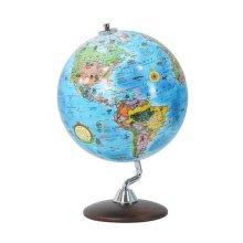 24cm 키즈 엘레강스 원목 지구본 유아용지구의 교육용