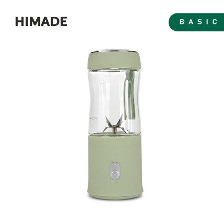 휴대용 미니 믹서 올리브그린 HBL-MM60G [믹서컵 380ml 용량/ 스테인레스 6중 칼날/ 2200mAh 리튬 배터리]