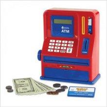 러닝리소스 ATM뱅크 은행놀이 돈놀이 장난감ATM 은행