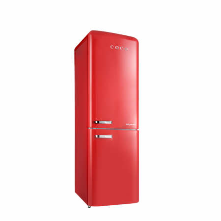 간냉식 영 레트로 소형 디자인 냉장고 CAP23RC 230L / 코코일렉