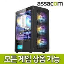 [게임용]R7 3800XT 16G/SSD240G/GTX1660슈퍼/조립컴퓨터PC[ASAR537X60]