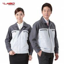 [라보] 신상 근무복 작업복 상의 점퍼 SM-J112 그레이