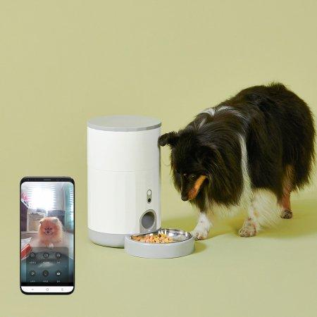 페페 반려동물 자동급식기 PRO (카메라 내장형)