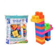맥킨더 유아용 칼라블럭 놀이 장난감
