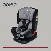 [특가] 폴레드 올에이지360 신생아 회전형 카시트_갤럭시그레이