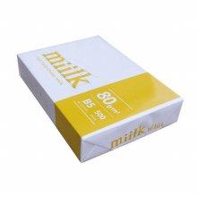 밀크 미색 B5 80g 500매 1권/B5용지/복사용지/낱권