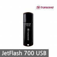 트랜센드 JetFlash 700 32GB USB메모리 블랙 (뚜껑형)