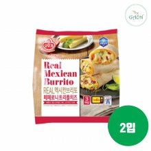 오뚜기 냉동 리얼 멕시칸브리또 페페로니트리플치즈 375g 2입