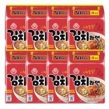 오뚜기 김치라면 멀티팩 4입 8봉