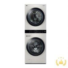 워시타워 W16ET [세탁기21KG(F21EXT.AKOR) + 건조기16KG(RH16EXT.AKOR)/원바디 플랫 디자인/원바디 런드리 컨트롤/건조 준비 기능/인공지능 DD/샌드 베이지]