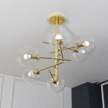 버킹엄 6등 직부등 66W(LED 11wx6) 감성디자인 조명/4F576D