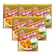 오뚜기백세카레 3분 순한맛 200g 6개