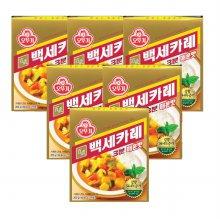 오뚜기백세카레 3분 매운맛 200g 6개