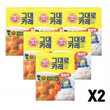 오뚜기그대로카레 (매운맛) 200G 12개