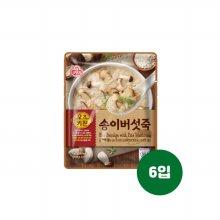 오뚜기 오즈키친 송이버섯죽 450g 6개