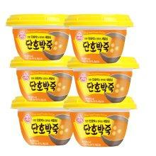 오뚜기 단호박죽(상온) 285g 6개