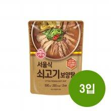오뚜기 서울식 쇠고기 보양탕 500g 3입