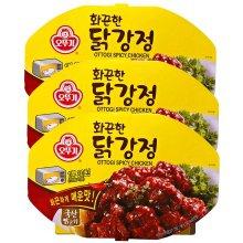 오뚜기 화끈한 닭강정(렌지)180g 12입