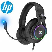 HP H500GS RGB LED 가상 7.1 게이밍 헤드셋 블랙