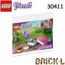 레고 스타터팩 30411 프렌즈 초콜릿 상자와 꽃 BR