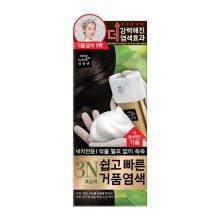 미쟝센 쉽고빠른 거품 염색약 3N 흑갈색 40g