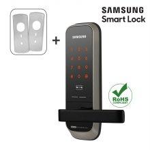 시공포함 무타공 삼성스마트도어락 SHP-H20+보강판