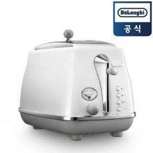 아이코나 캐피탈 토스터 CTOC2003.W [화이트/ 2구/ 4가지 자동버튼/ 베이글 기능]