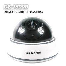 Coms) 도난방지형 모형CCTV카메라(LED작동-돔형)/1568B1
