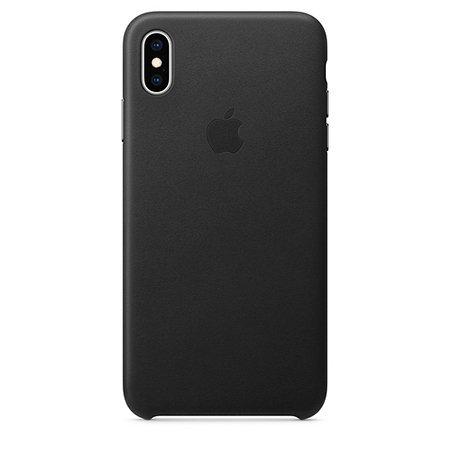 [최상급 리퍼상품 단순변심] [블랙] 아이폰XS MAX 정품 가죽케이스