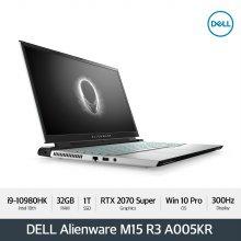 [다운로드 3% 쿠폰] Alienware M15 R3 A005KR[10th i9-10980HK/32G/15.6 FHD 300Hz/1TB/RTX2070S]
