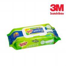 3M 스카치브라이트 물걸레 청소포 더블액션 대형 20매 6387