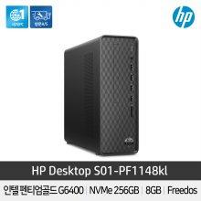 HP데스크탑 PC S01-PF1148KL [펜티엄 G-6400/8GB/25GB/슬림/FreeDOS]