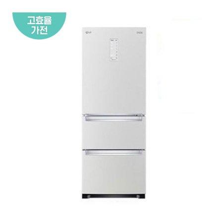 디오스 스탠드형 김치냉장고 K330W14E (327L, 화이트, 1등급)