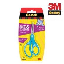 3M 스카치 어린이 양손 가위 12.5cm 블루 0235