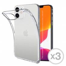 1+1+1 투명 젤리케이스 아이폰 12 mini