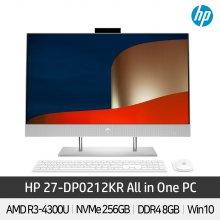 HP 일체형PC 27-DP0212KR AMD CPU 라이젠3 홈스쿨링 Win10Home