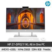 HP 일체형PC 27-DP0211KL AMD CPU 라이젠3 홈스쿨링 올인원PC