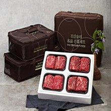 강강술래 왕양념갈비선물세트 4호 900g 4팩