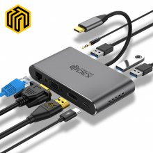 씽크웨이 CORE D53덱스 8in1 HDMI 멀티포트 허브