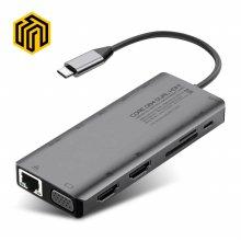 씽크웨이 CORE D84 트리플 HDMI 13in1 멀티포트 허브