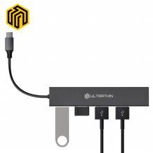 씽크웨이 CORE D4C 울트라씬 USB3.0 4포트허브(TYPE-C)