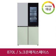 오브제컬렉션 4도어 냉장고 M870GSM451 [870L]