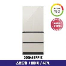 [NEW] 김치냉장고 GDQ48ERPIE (467L / 스탠드형 / 1등급)