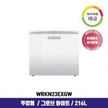 클라쎄 김치냉장고 WRKN23EXGW (216L / 그로브 화이트 / 1등급)