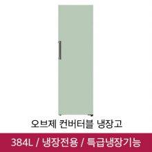 [MIST] 오브제 컨버터블 냉장고 X320GMS (384L, 민트)