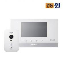 셀프시공 비디오폰 인터폰 NHA0793 화이트 초인종포함
