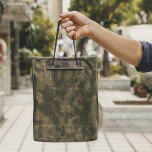 [WOTANCRAFT] 우탄크래프트 가방 Foldable Shopping Bag 5L Olive Green