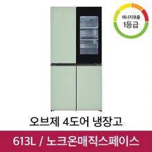 오브제컬렉션 4도어 냉장고 M620GMM351S [613L]