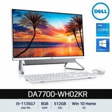 DELL 인스피론 7700 올인원PC DA7700-WH02KR[i5-1135G7/8GB/512GB/27형]