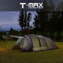 [제드] 티맥스(T-MAX) 텐트 ZHATE0602 /터널형텐트/패밀리텐트/풀그라운드시트 포함